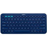 Logitech bluetooth Multi-Device Keyboard K380 modrá - Klávesnica