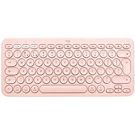 Logitech Bluetooth Multi-Device Keyboard K380 pre Mac, ružová – UK