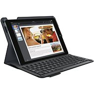 Logitech Type + keyboard cover - carbon black - Puzdro na tablet