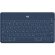 Logitech Keys-To-Go, modrá (US INTL) - Klávesnica