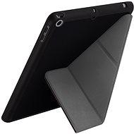 Uniq Transforma Rigor iPad 10.2 2019 Ebony - Puzdro na tablet