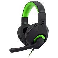 C-TECH NEMESIS V2 GHS-14 (čierno-zelené) - Herné slúchadlá