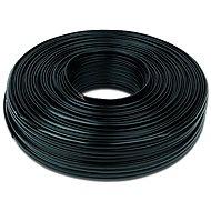 Gembird kábel telefónny 100 m čierny - Telefónny kábel