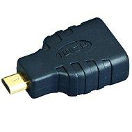 Gembird HDMI A (F)-->  micro HDMI (M), pozlátené konektory - Redukcia