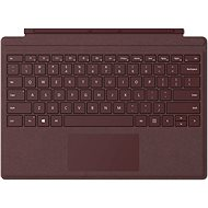 Microsoft Surface Pro Type Cover Burgundy CZ/SK