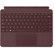 Microsoft Surface Go Type Cover Burgundy - Klávesnica