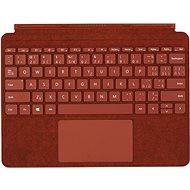 Microsoft Surface Go Type Cover Poppy Red CZ/SK - Klávesnica
