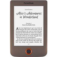 PocketBook 615 Basic Lux hnedý - Elektronická čítačka kníh