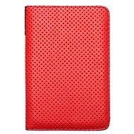 PocketBook DOTS červeno - sivé - Puzdro na čítačku kníh