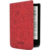 PocketBook HPUC-632-R-F Red Flowers - Puzdro na čítačku kníh