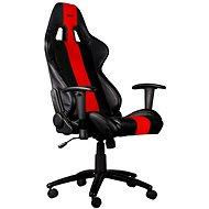 C-TECH PHOBOS čierno-červená - Herná stolička