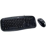 Genius KM-210 CZ + SK - Set klávesnice a myši