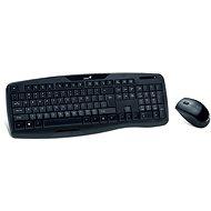 Genius KB-8000X CZ+SK čierna - Set klávesnice a myši