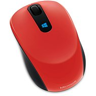 Microsoft Sculpt Mobile Mouse Wireless, červená - Myš