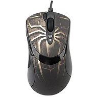 A4tech XL-747H Gaming motív pavúk hnedý - Herná myš