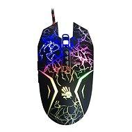 A4tech Bloody N50 Neon čierna s neónovým podsvietením - Herná myš
