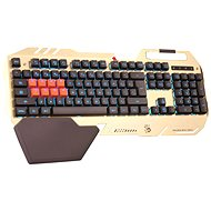 A4tech Bloody B418 CZ zlatá - Herná klávesnica