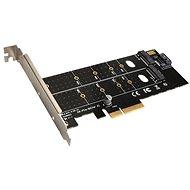 EVOLVEO NVMe & M.2 SSD PCIe, rozšiřující karta - Rozširujúca karta