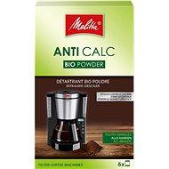 Melitta ANTI CALC Práškový bio-odvápňovač pre prekvapkávače (6× 20g)
