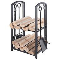 Lienbacher Stojan na drevo s krbovým náradím - Stojan