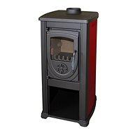 Bella Thalia Cast iron stove OKTA Claret - Wood Stove