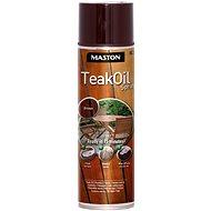 Maston spray TEAK OIL BROWN hnedý 500 ml - Farba v spreji