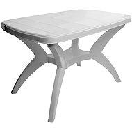 MEGAPLAST CENTO 120 × 75 × 73 cm, biely - Záhradný stôl
