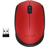 Logitech Wireless Mouse M171 červená - Myš