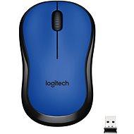 Logitech Wireless Mouse M220 Silent, modrá - Myš