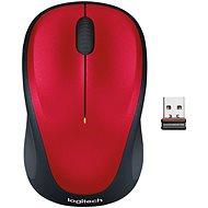 Logitech Wireless Mouse M235 červená - Myš