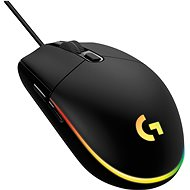 Logitech G203 Lightsync, Black - Gaming Mouse