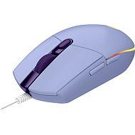 Logitech G203 LIGHTSYNC, Lilac - Herná myš