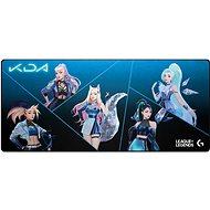 Podložka pod myš Logitech G840 XL Gaming Mousepad K/DA edícia