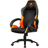 Herná stolička Cougar Fusion black/orange stolička - Herní židle
