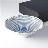 Made In Japan Velká mísa s modrými linkami 25 cm 1,2 l - Miska