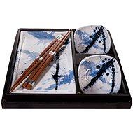 Made In Japan Sushi set Blue & White 6 ks