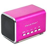 TECHNAXX MusicMan MIDI ružový - Bezdrôtový reproduktor