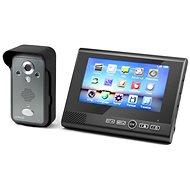Technaxx bezdrôtový video zvonček s kamerou vrátane LCD monitora (TX-59) - Videotelefón
