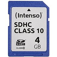 Intenso SD Card Class 10 4GB SDHC - Pamäťová karta