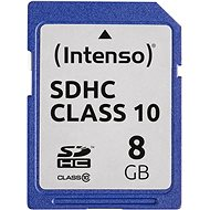 Intenso SD Card Class 10 8GB - Pamäťová karta