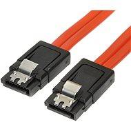 ROLINE dátový k HDD SATA 3.0. 1×HDD, 0,5 m, západky - Dátový kábel