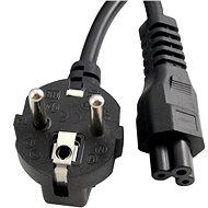 Gembird Cablexpert 220/230 V pre notebook 1,8 m (trojlístok) - Napájací kábel