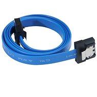 AKASA PROSLIM SATA 15cm modrý - Dátový kábel