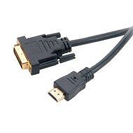 AKASA DVI-D na HDMI 2 m - Video kábel