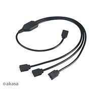 Napájací kábel AKASA ARGB LED prepojovací kábel/AK-CBLD07-50BK
