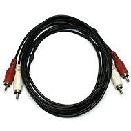 OEM 2x cinch, prepojovací, 5 m - Audio kábel