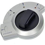 ROLINE prepínač optického audio signálu Toslink s aretáciou - Redukcia