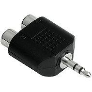 Hama audio 3.5 mm jack - 2 cinch zásuvky