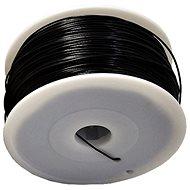MKF ABS 1,75 mm 1 kg čierna - Tlačová struna
