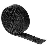 Organizér káblov Univerzálna sťahovacia páska 1m čierna - Organizér kabelů